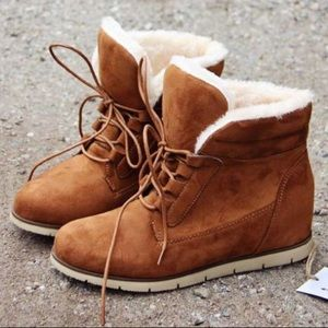 🆕Narnia | Cozy Camel Boots